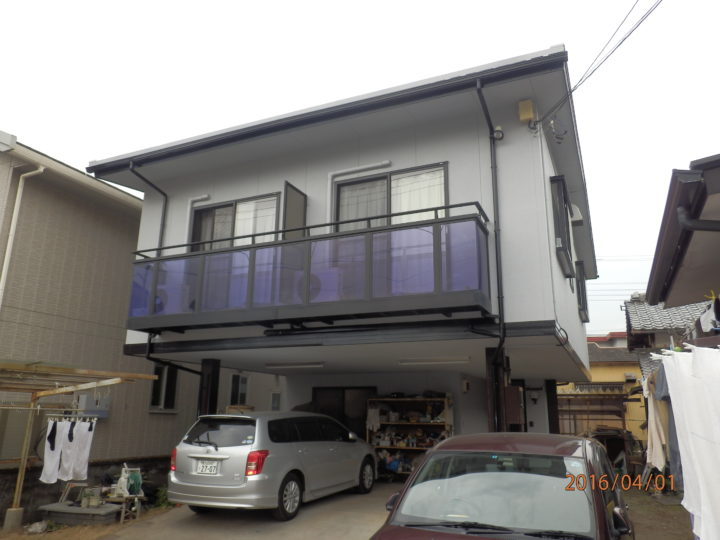 富士市神谷 O様邸外壁塗装