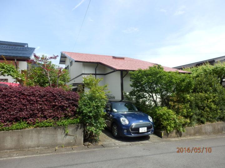 三島市加茂 K様邸外壁塗装