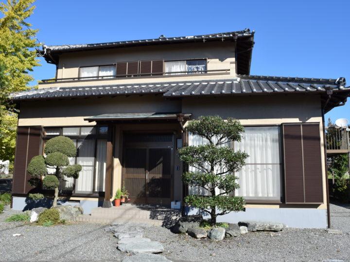 富士市久沢 K様邸外壁塗装