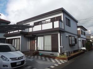 静岡県三島市 T様邸外壁塗装