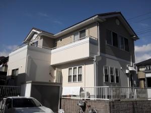 静岡県御殿場市神山平 S様邸外壁塗装