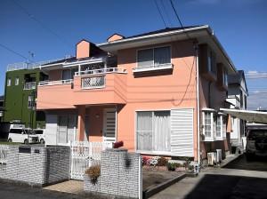 富士市本市場 S様邸外壁塗装