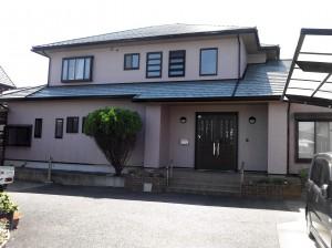 富士市本市場 外壁塗装(K様邸)