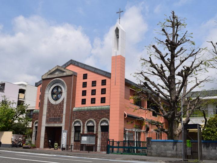 静岡市葵区一番町教会 外壁塗装