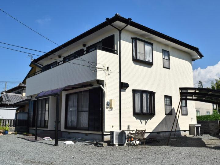 富士市大淵 K様邸外壁塗装