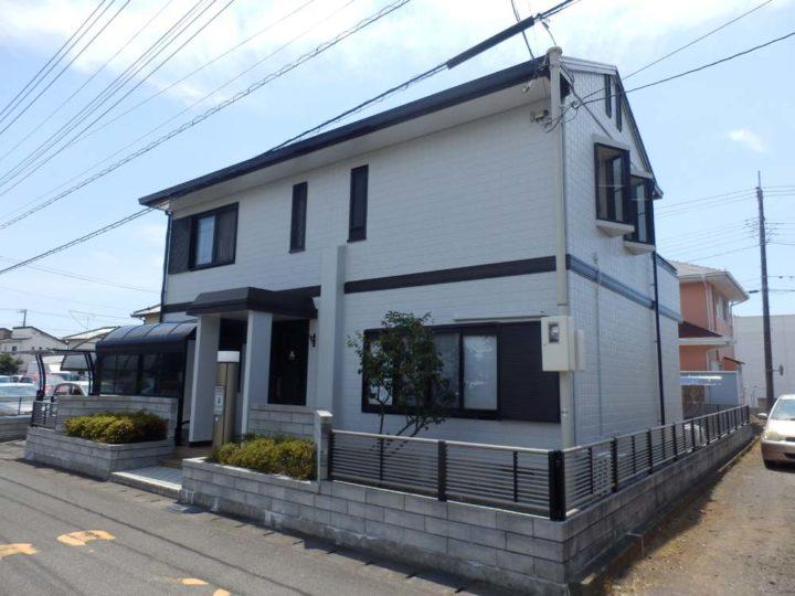 富士市本市場 K様邸外壁塗装
