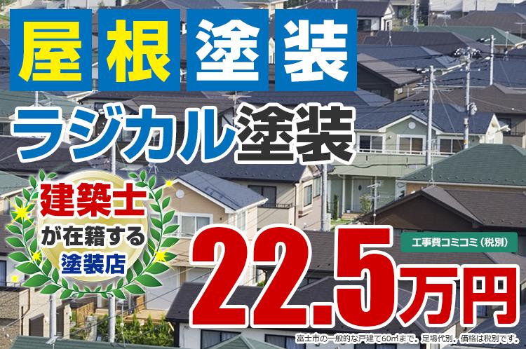 ラジカルプラン塗装 22.5万円