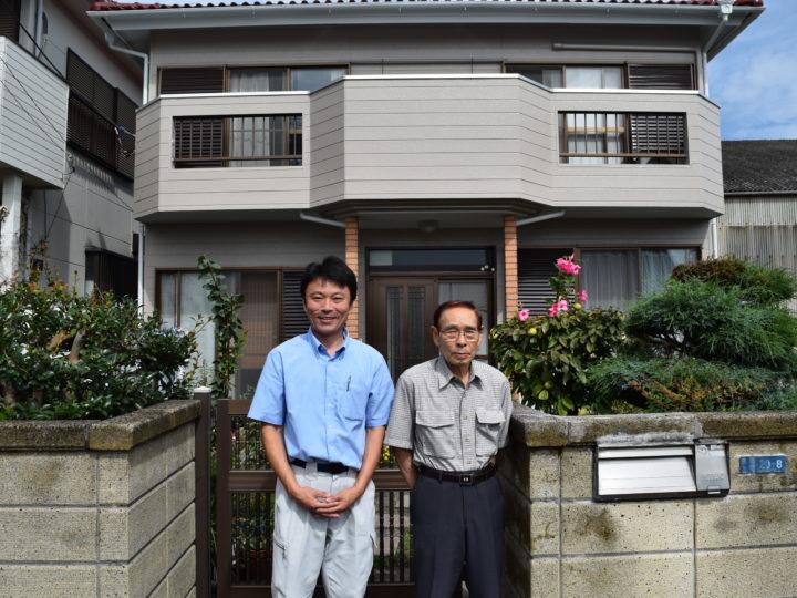 富士市 外壁塗装 T様邸 外壁塗装工事